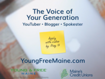 Be The Next Young & Free Spokester!
